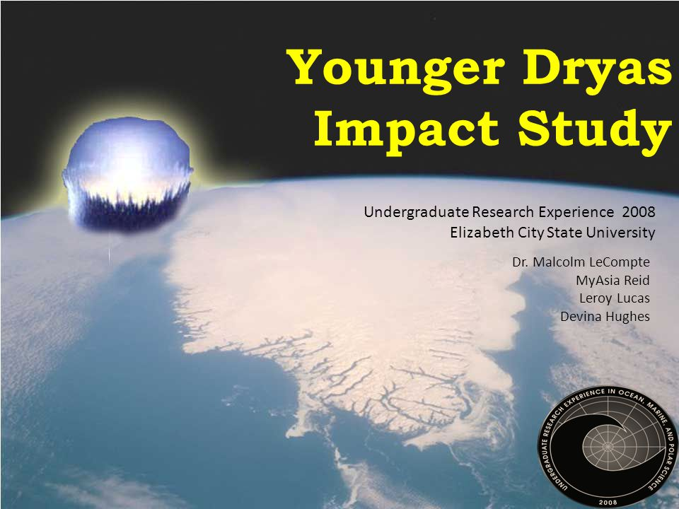 Younger Dryas Impact Study