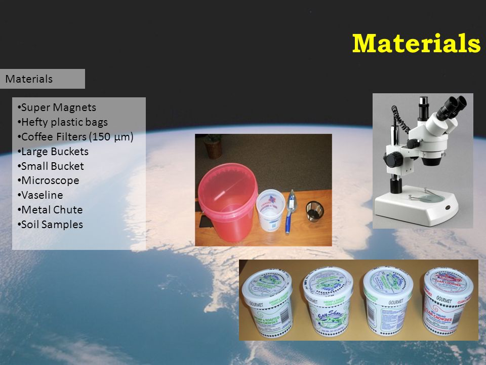 Materials Materials Super Magnets Hefty plastic bags
