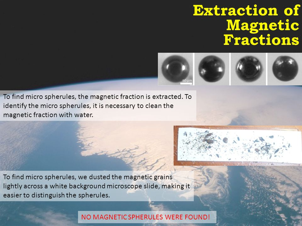 Extraction of Magnetic Fractions
