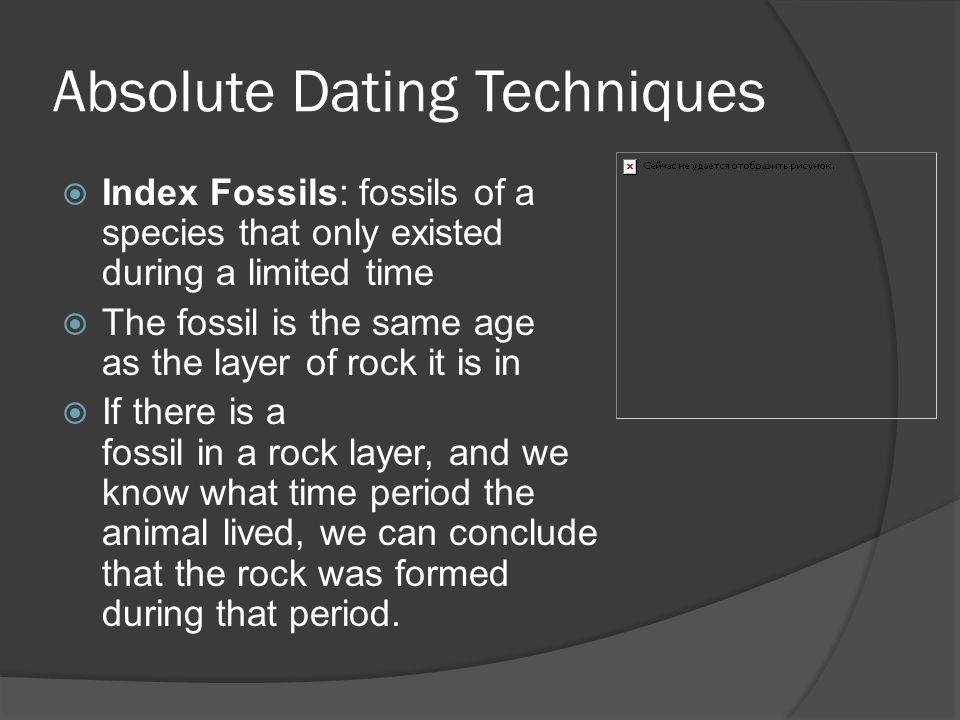 How are index fossils used in relative dating