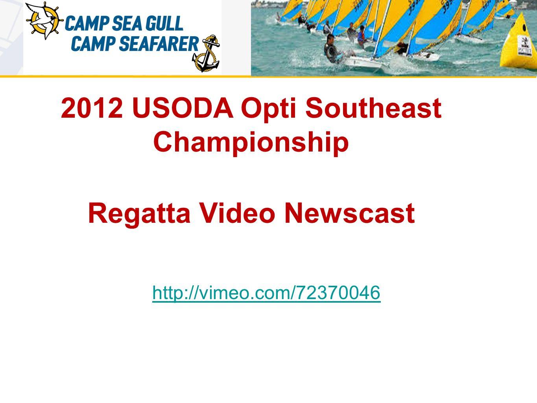 2012 USODA Opti Southeast Championship Regatta Video Newscast