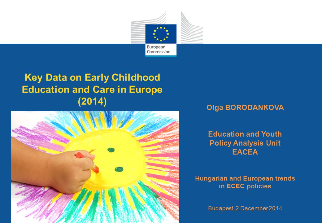 Key Data on Early Childhood Education and Care in Europe (2014)