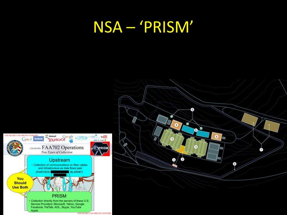 NSA – 'PRISM'