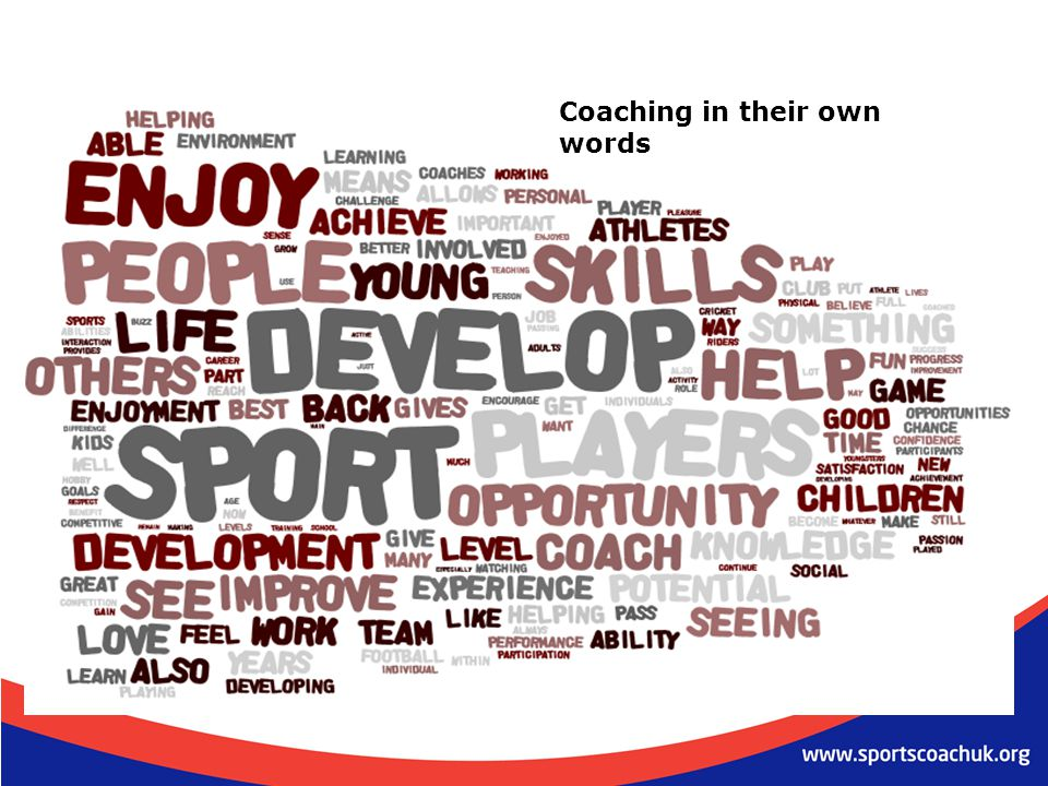 Coaching in their own words
