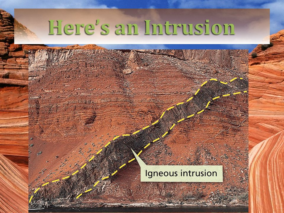 Here's an Intrusion