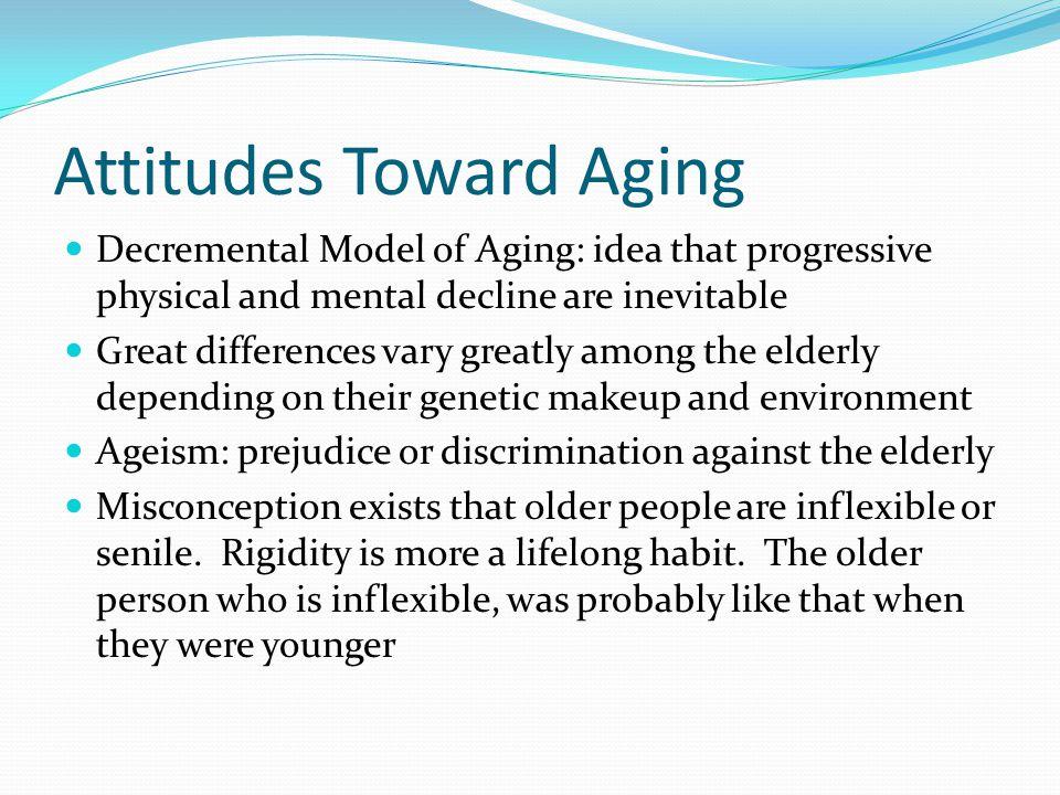 Attitudes Toward Aging