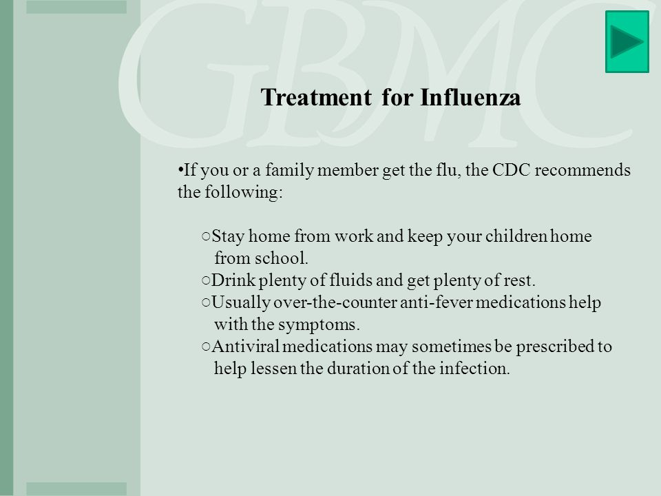 Treatment for Influenza