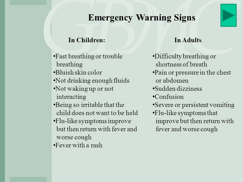 Emergency Warning Signs