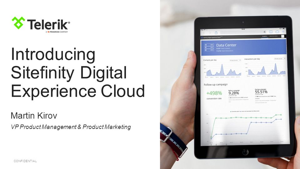 Introducing Sitefinity Digital Experience Cloud