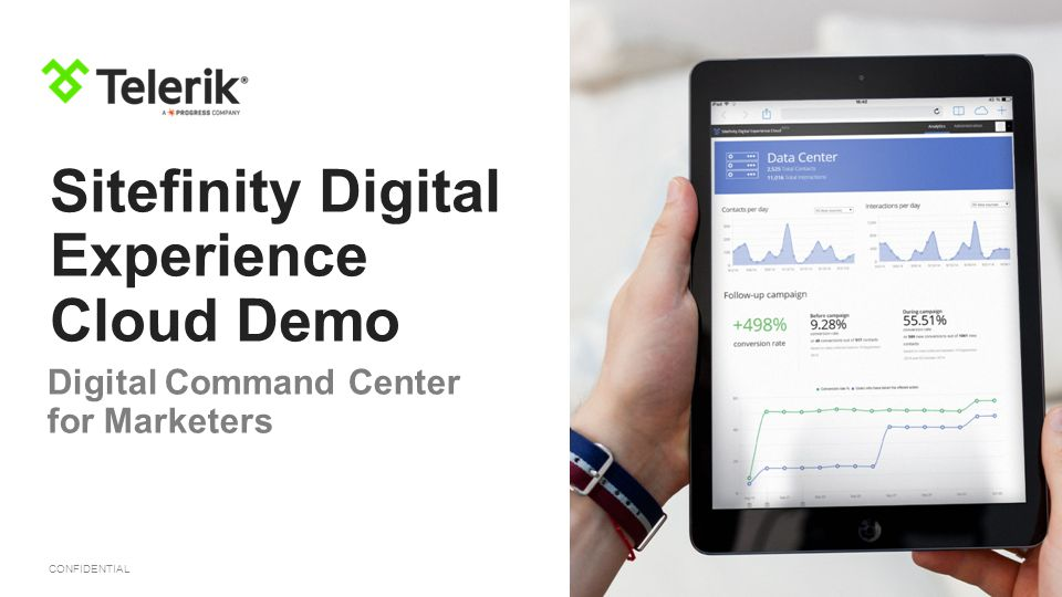 Sitefinity Digital Experience Cloud Demo