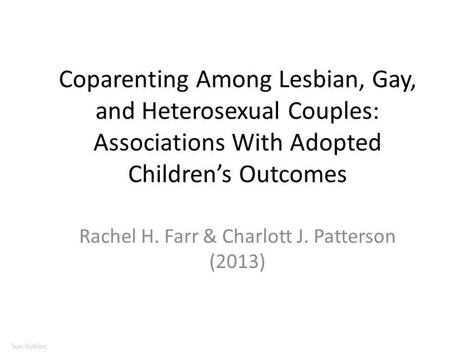 Rachel H. Farr & Charlott J. Patterson (2013)