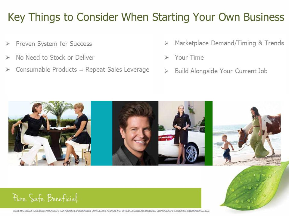 Key Things to Consider When Starting Your Own Business