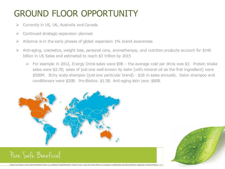 GROUND FLOOR OPPORTUNITY