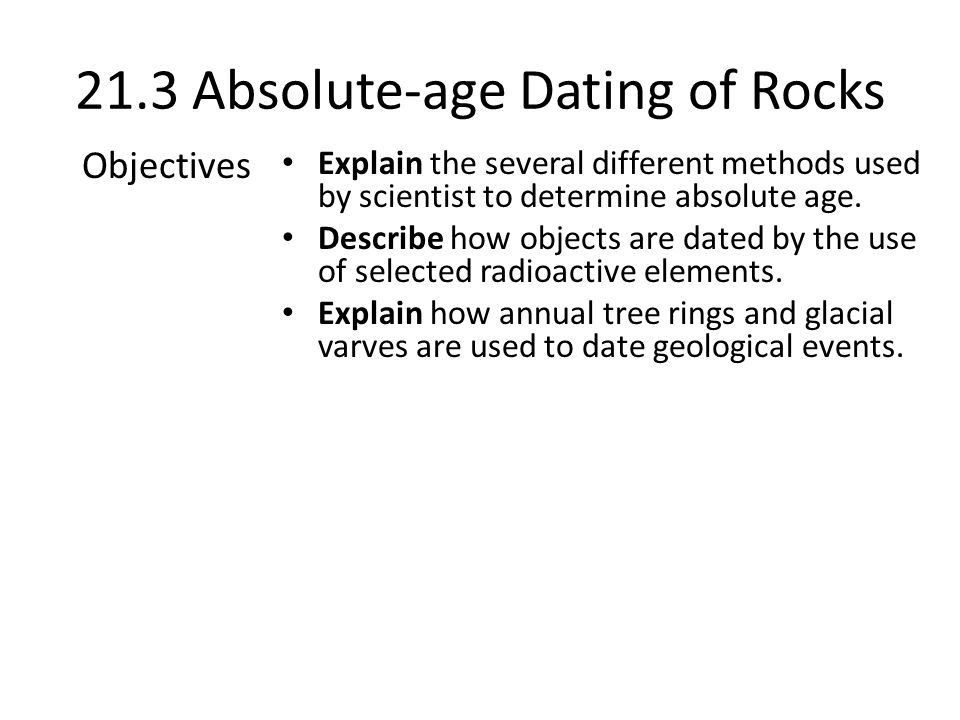 21.3 Absolute-age Dating of Rocks