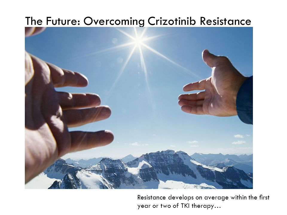 The Future: Overcoming Crizotinib Resistance