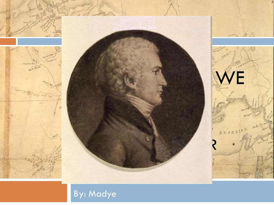 Oh, The Places We Will Go!!! A PowerPoint All About Meriwether Lewis