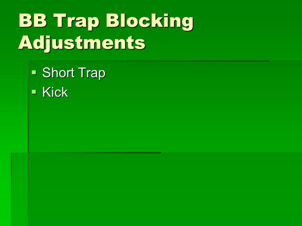 BB Trap Blocking Adjustments