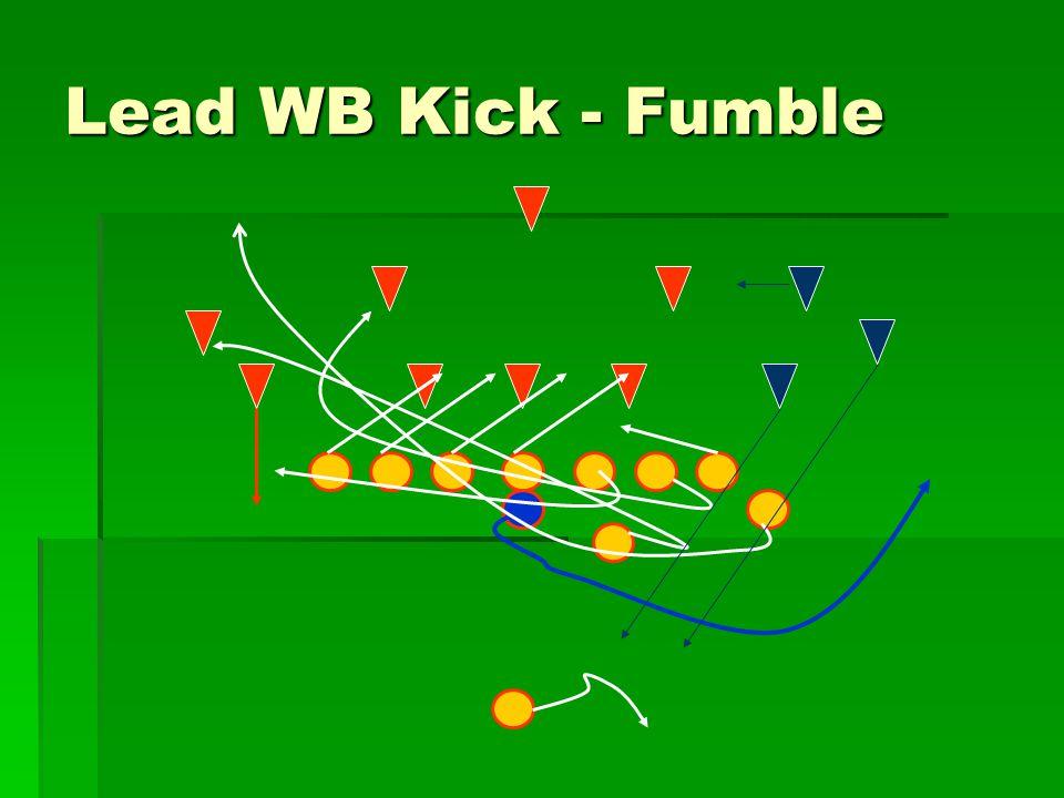 Lead WB Kick - Fumble
