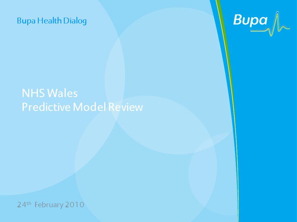 NHS Wales Predictive Model Review