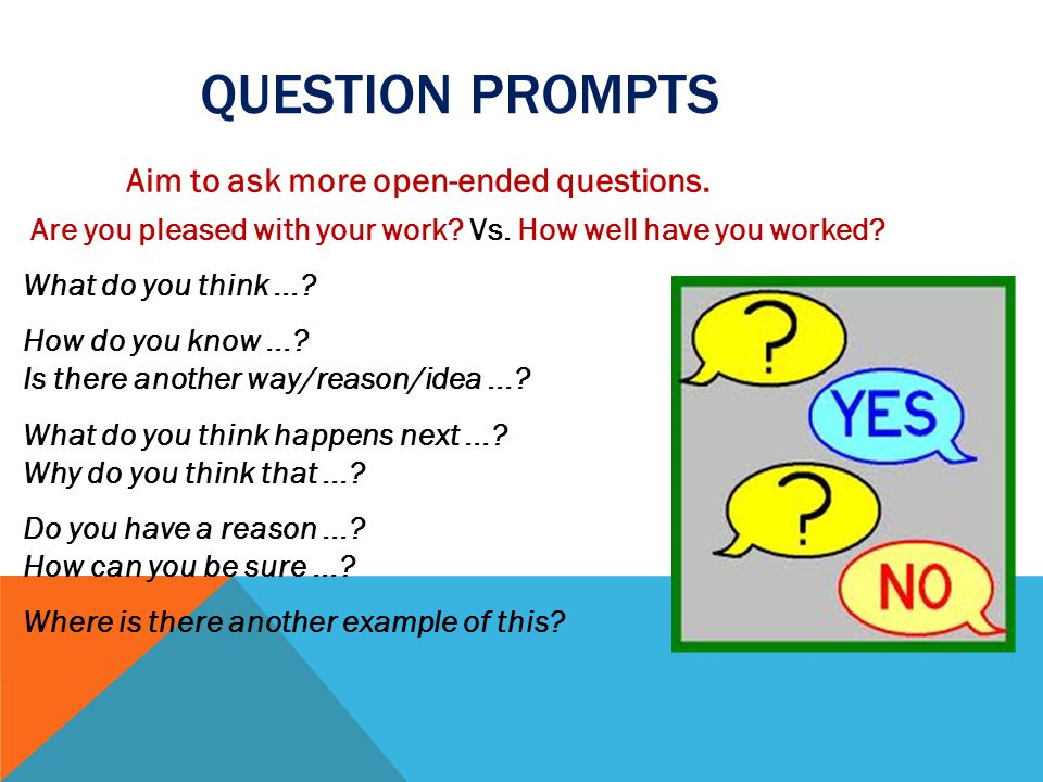 Question prompts
