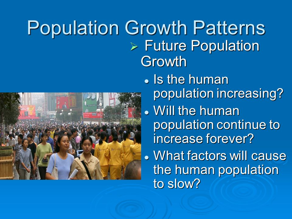 Population Growth Patterns
