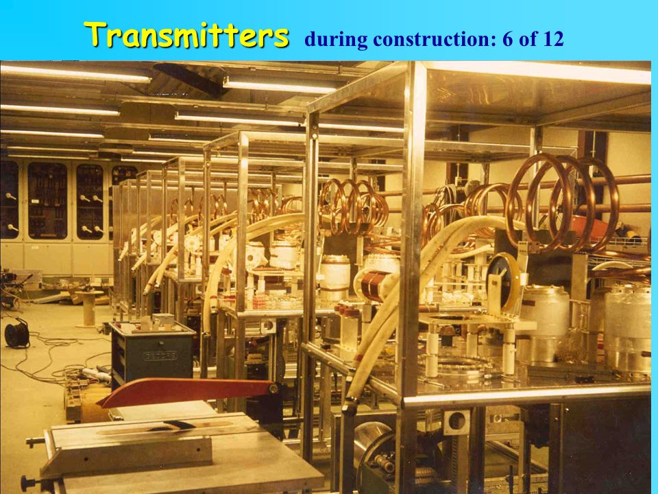 Transmitters during construction: 6 of 12