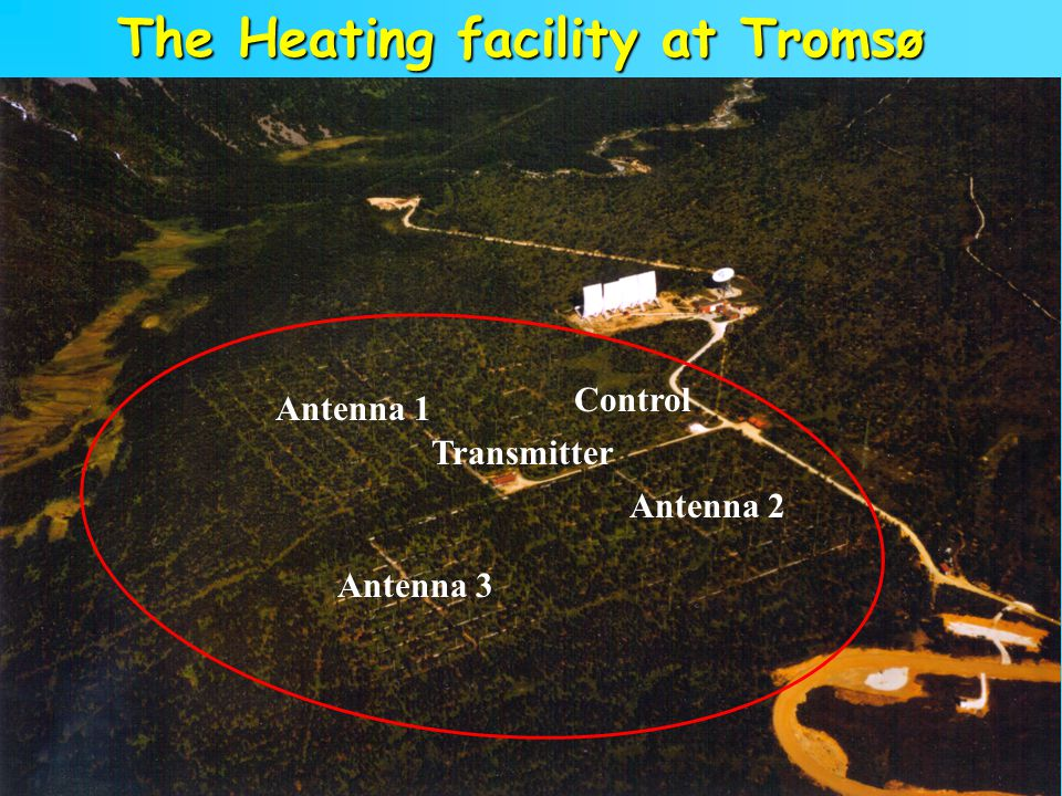 The Heating facility at Tromsø