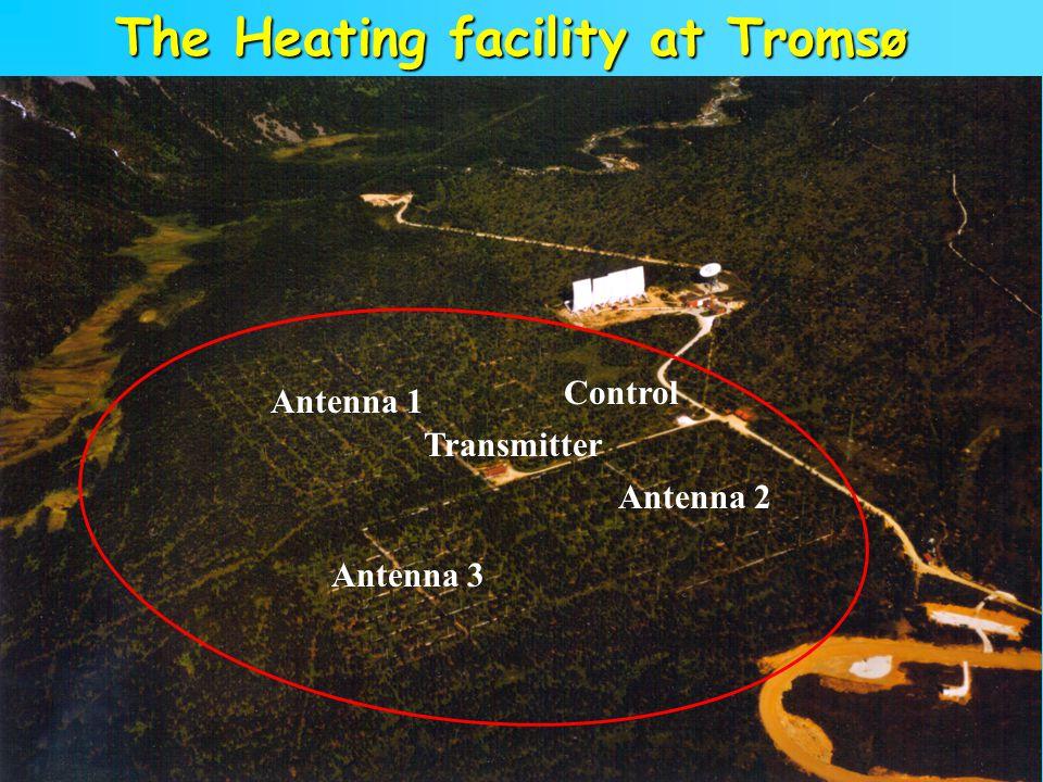 The Heating facility at Tromsø