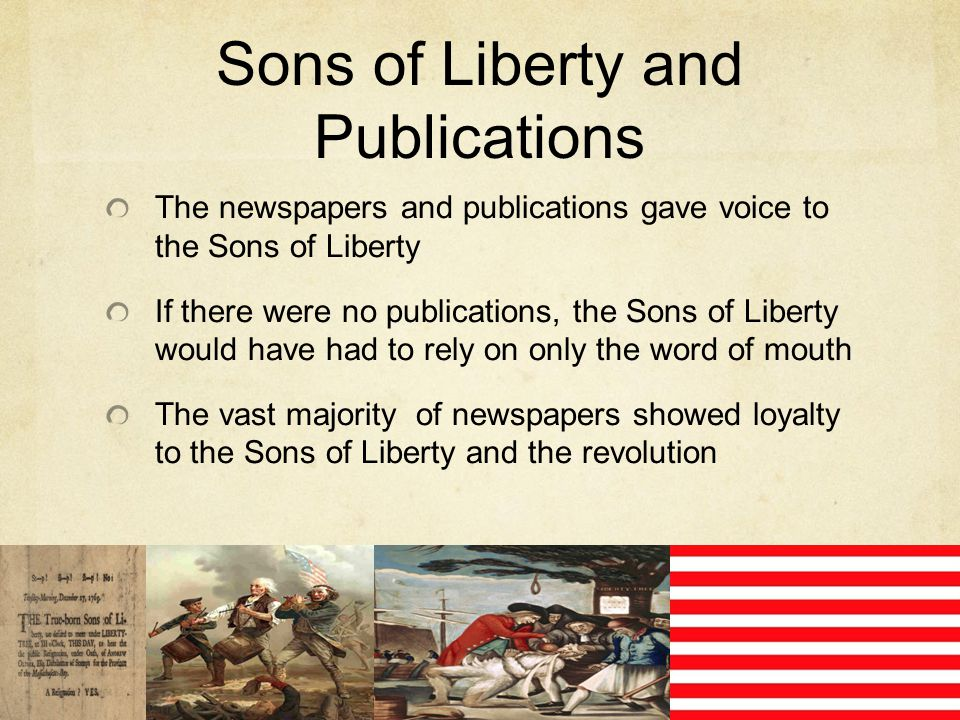 Sons of Liberty and Publications