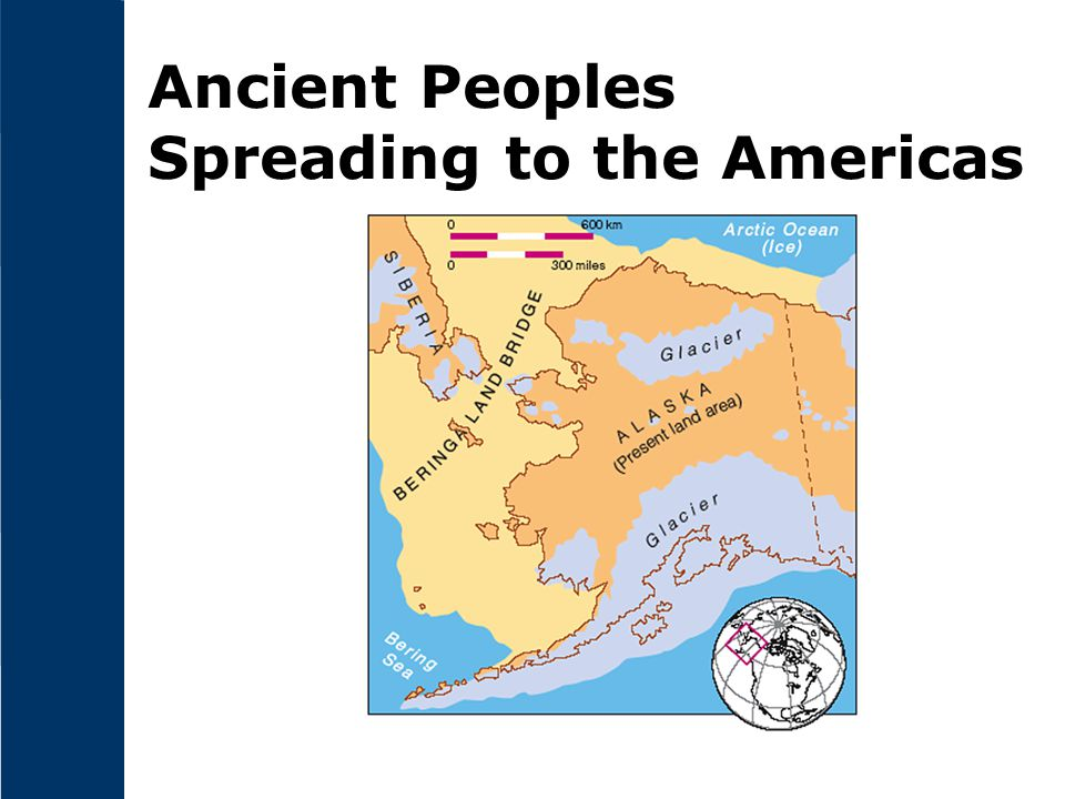 Ancient Peoples Spreading to the Americas