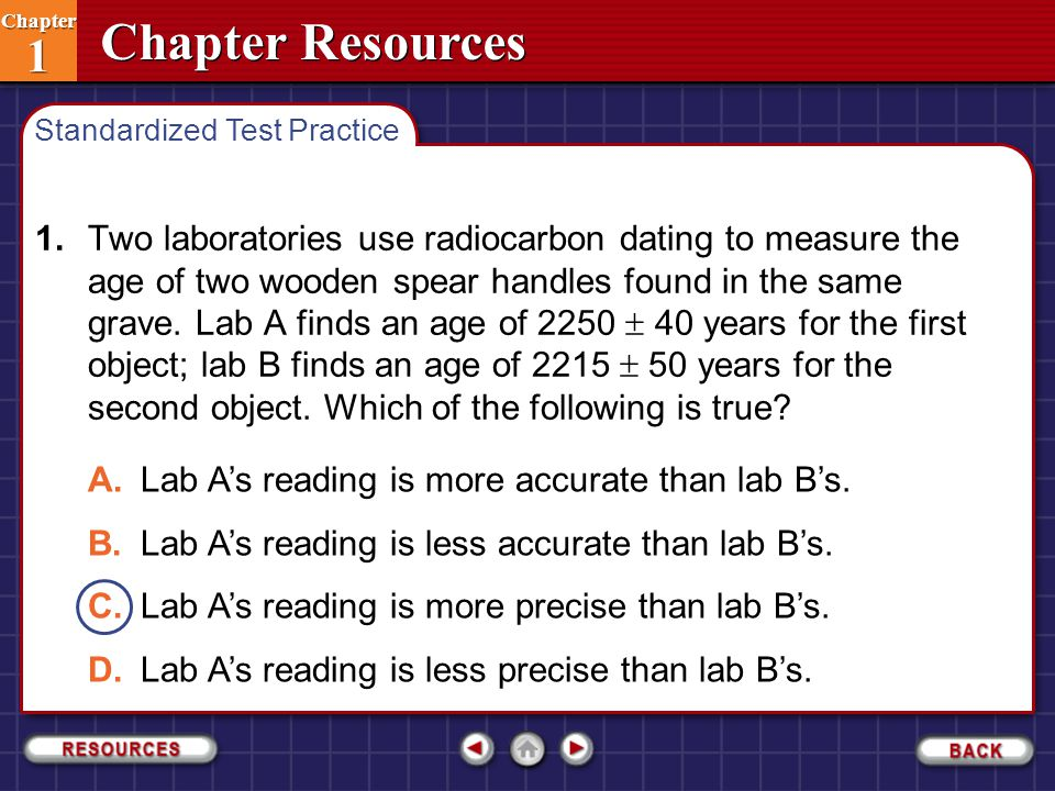 A. Lab A's reading is more accurate than lab B's.