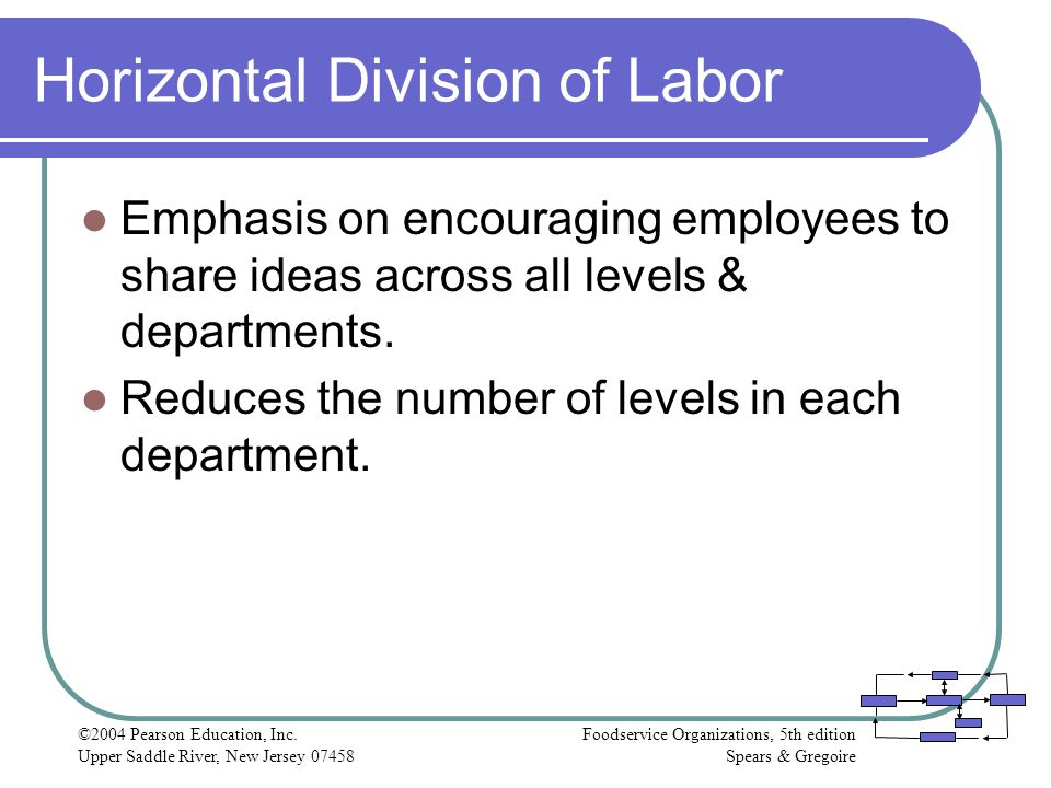 Horizontal Division of Labor