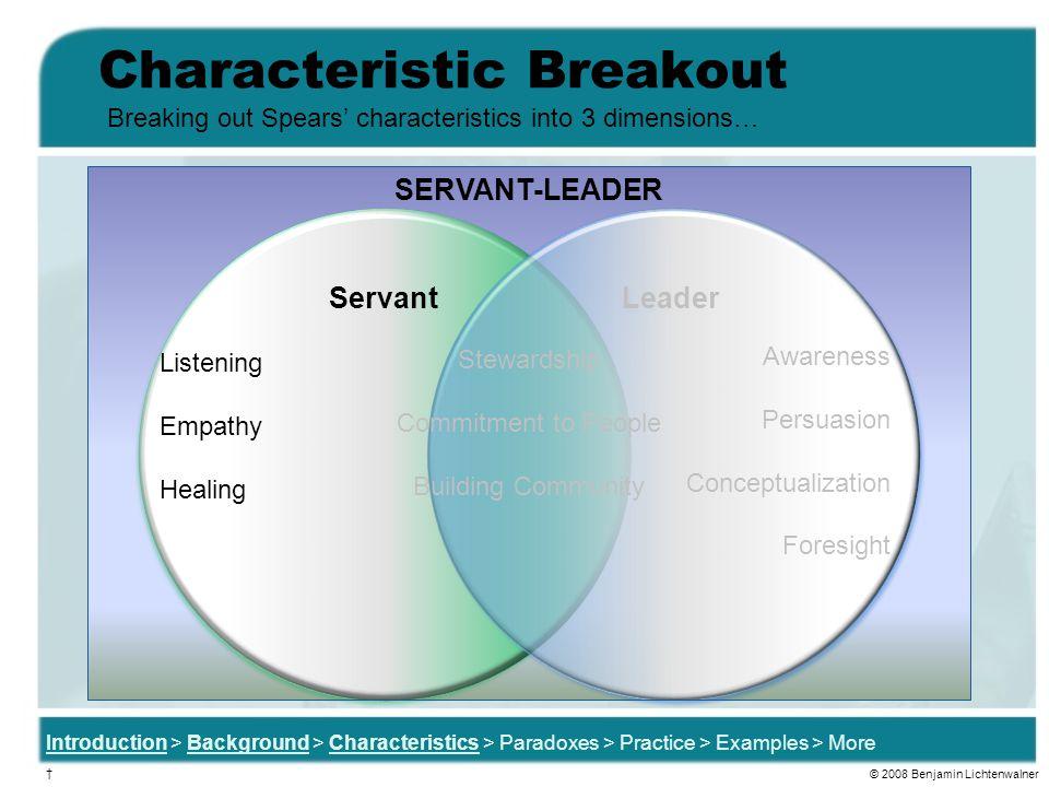Characteristic Breakout
