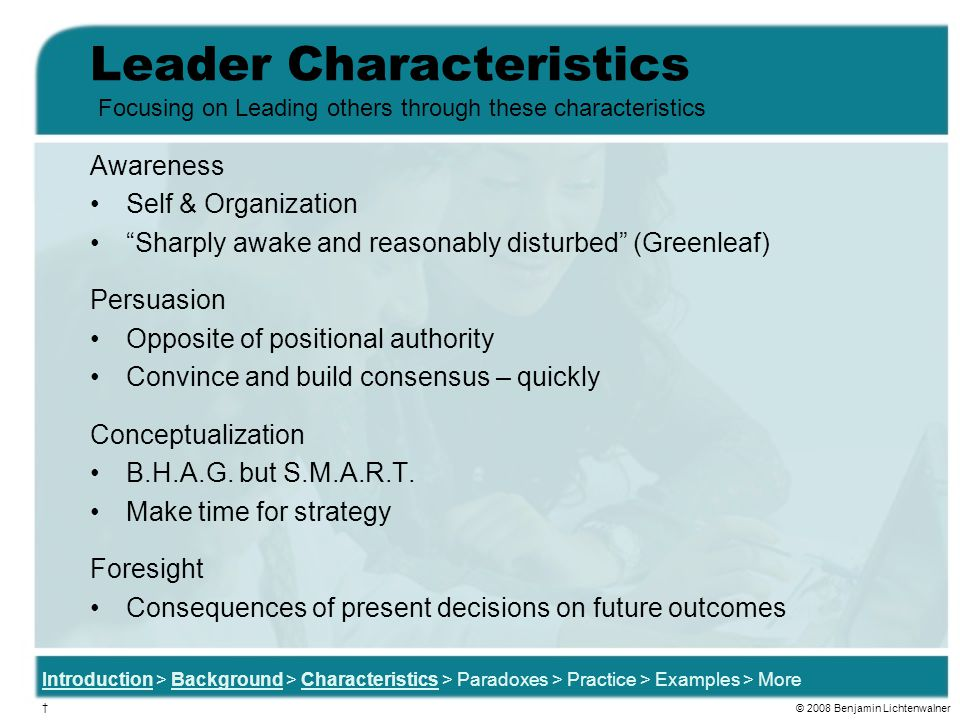 Leader Characteristics