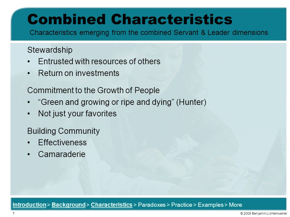 Combined Characteristics