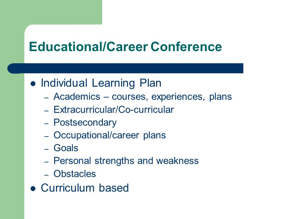 Educational/Career Conference