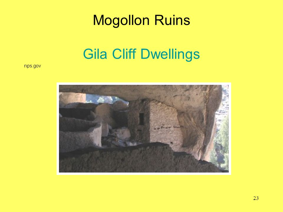 Mogollon Ruins Gila Cliff Dwellings