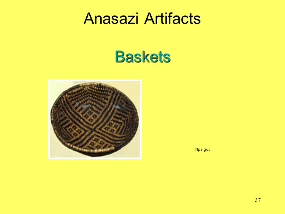 Anasazi Artifacts Baskets