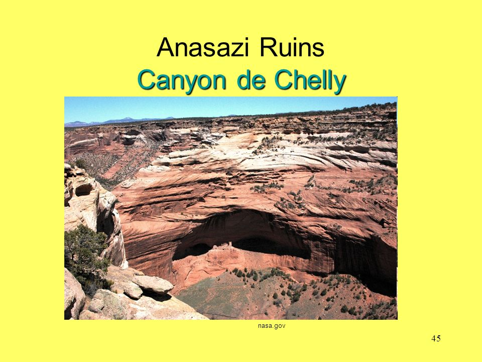Anasazi Ruins Canyon de Chelly