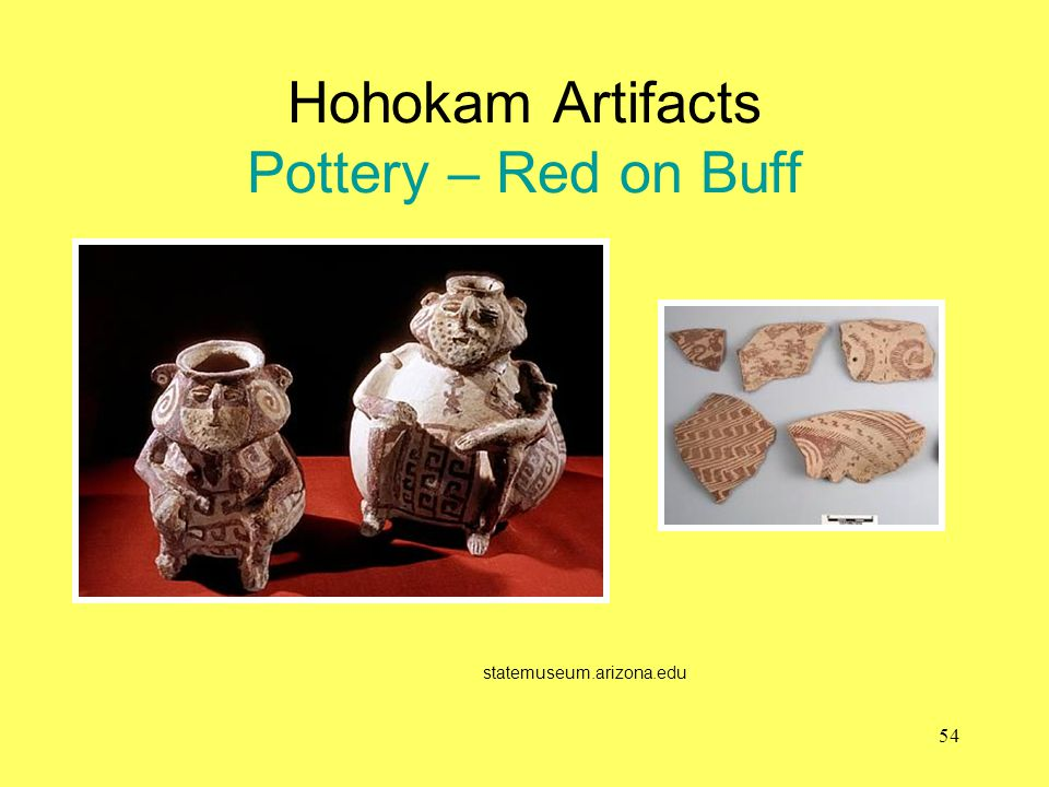 Hohokam Artifacts Pottery – Red on Buff