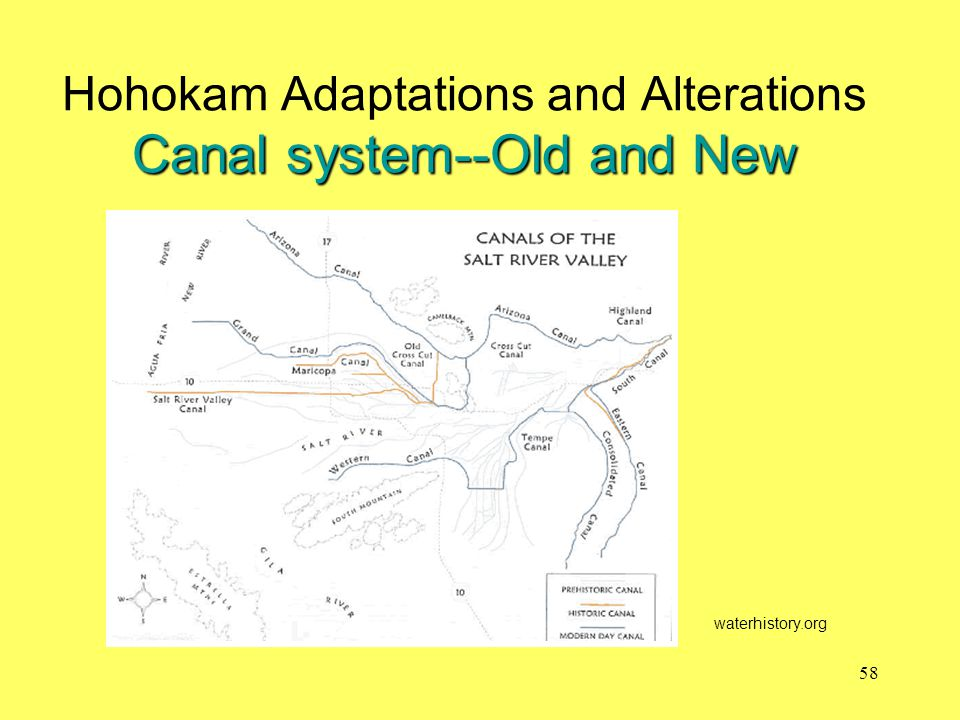 Hohokam Adaptations and Alterations Canal system--Old and New