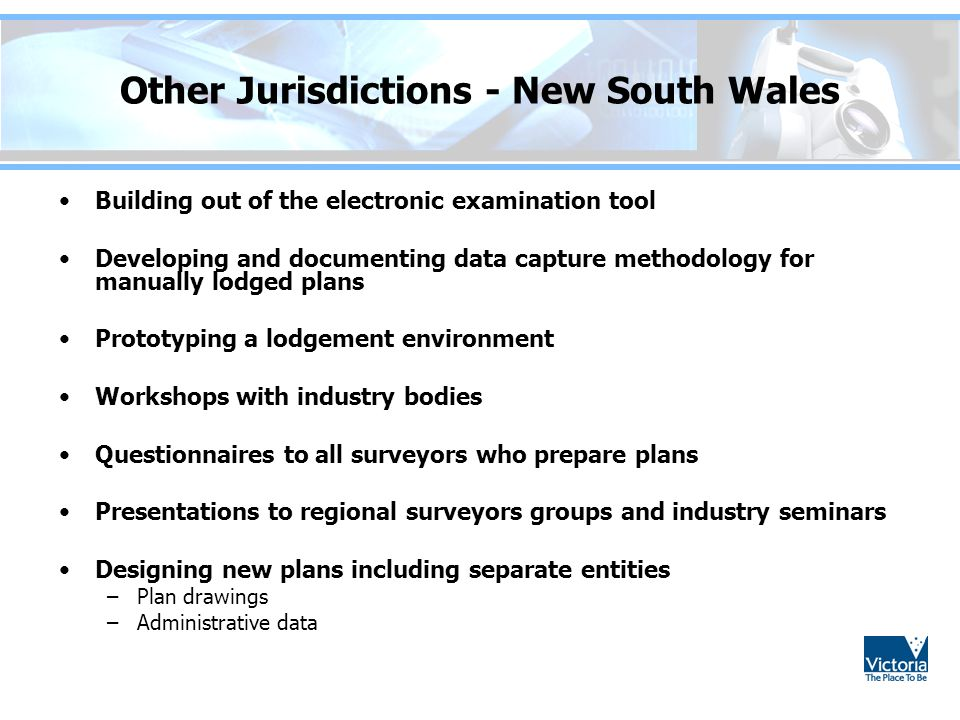Other Jurisdictions - New South Wales