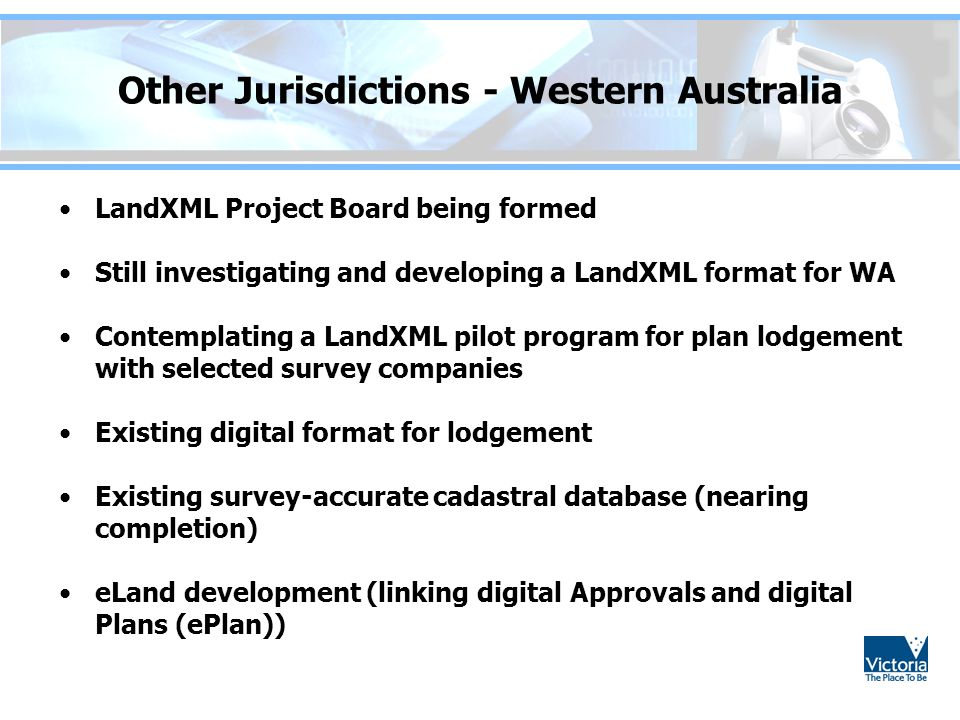 Other Jurisdictions - Western Australia