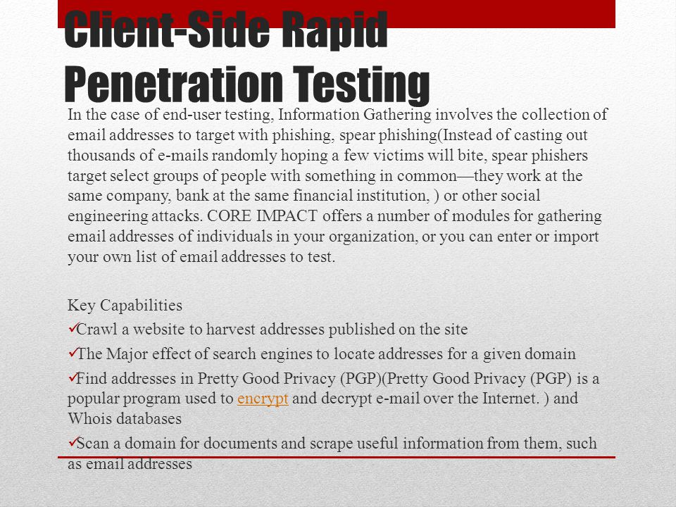 Client-Side Rapid Penetration Testing