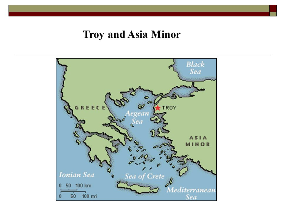 Troy and Asia Minor
