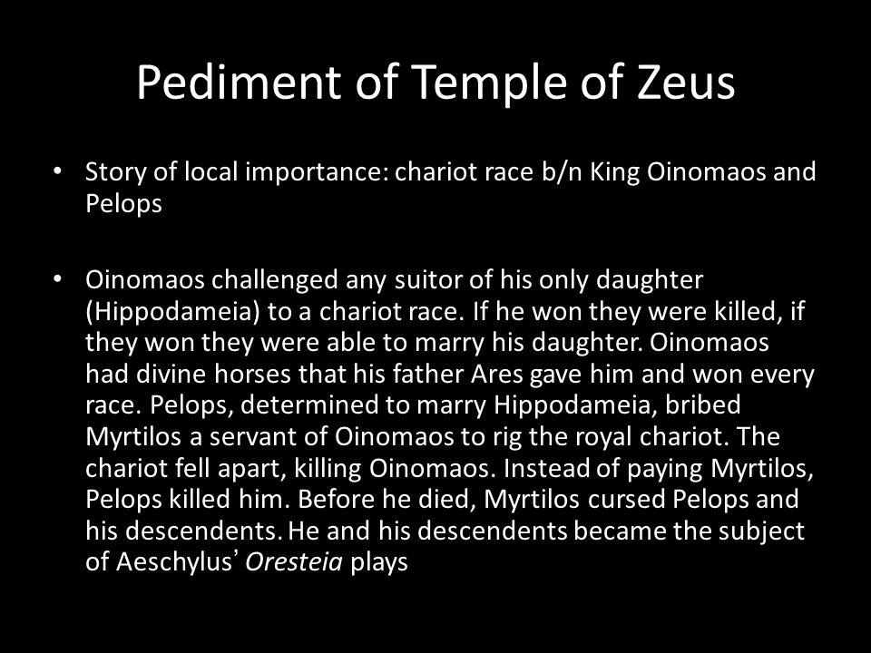 Pediment of Temple of Zeus