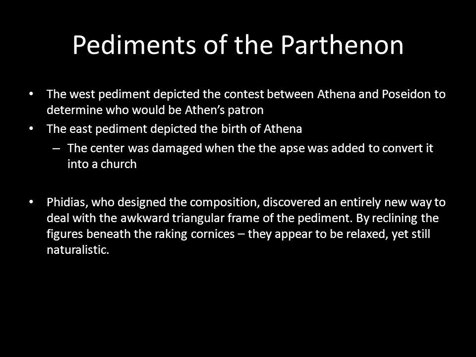 Pediments of the Parthenon