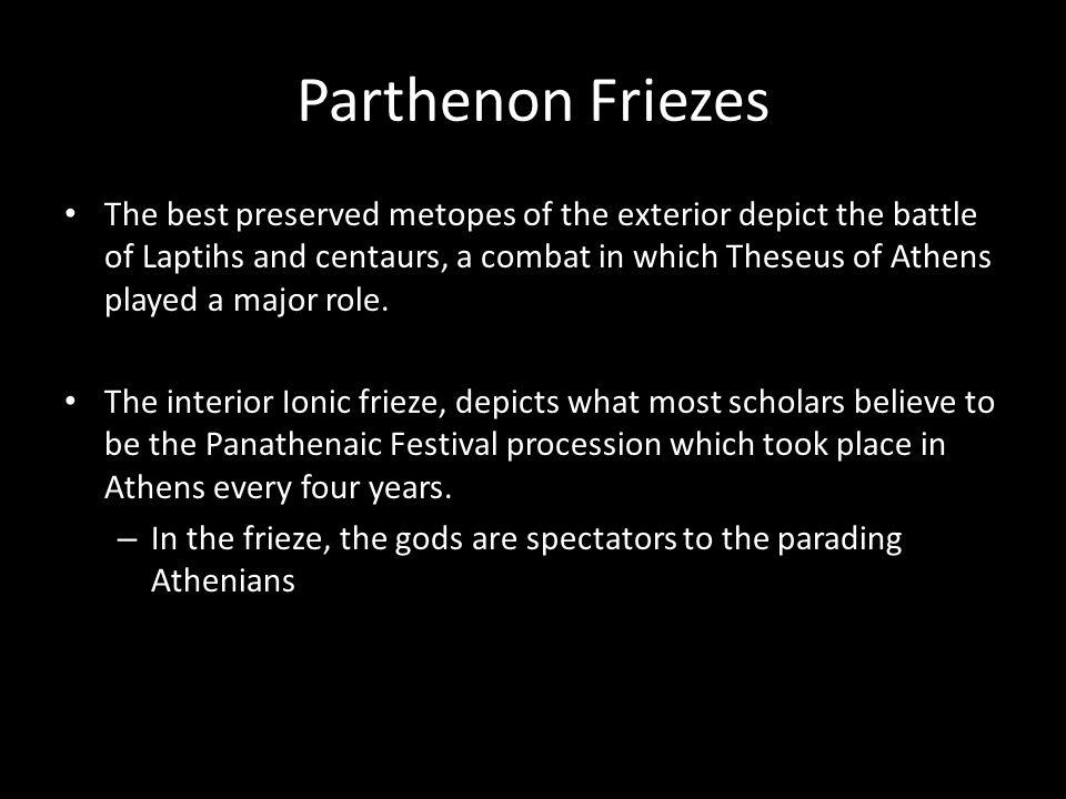Parthenon Friezes