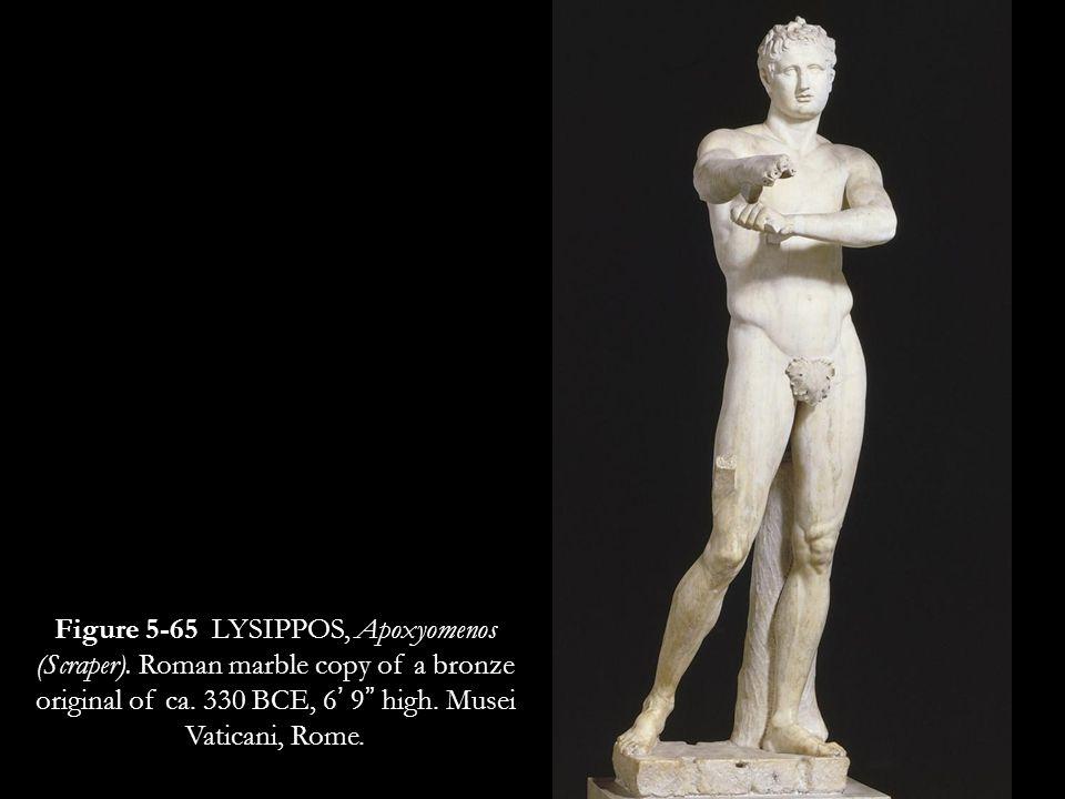 Figure 5-65 LYSIPPOS, Apoxyomenos (Scraper)