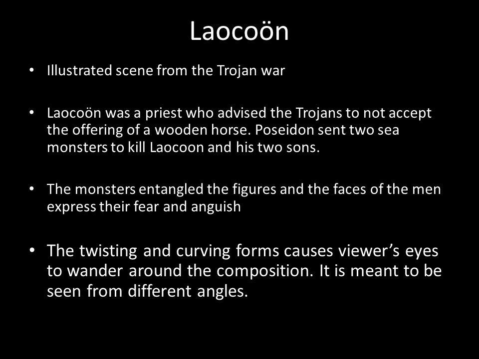 Laocoön Illustrated scene from the Trojan war.